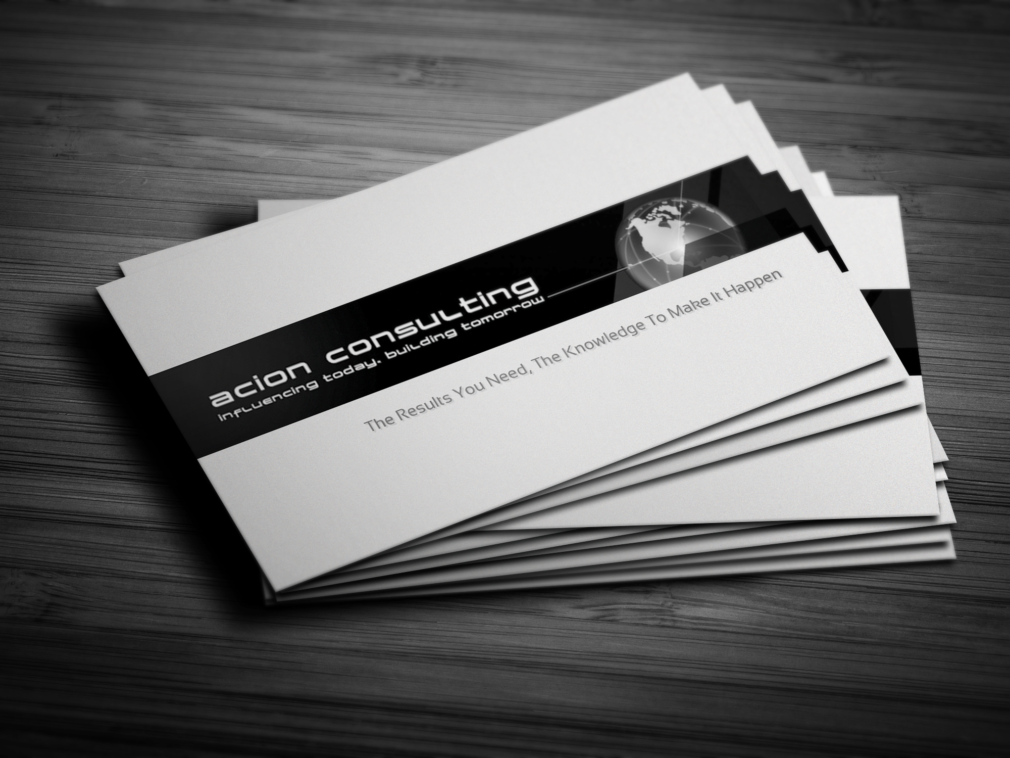 Acion Consulting Business Cards