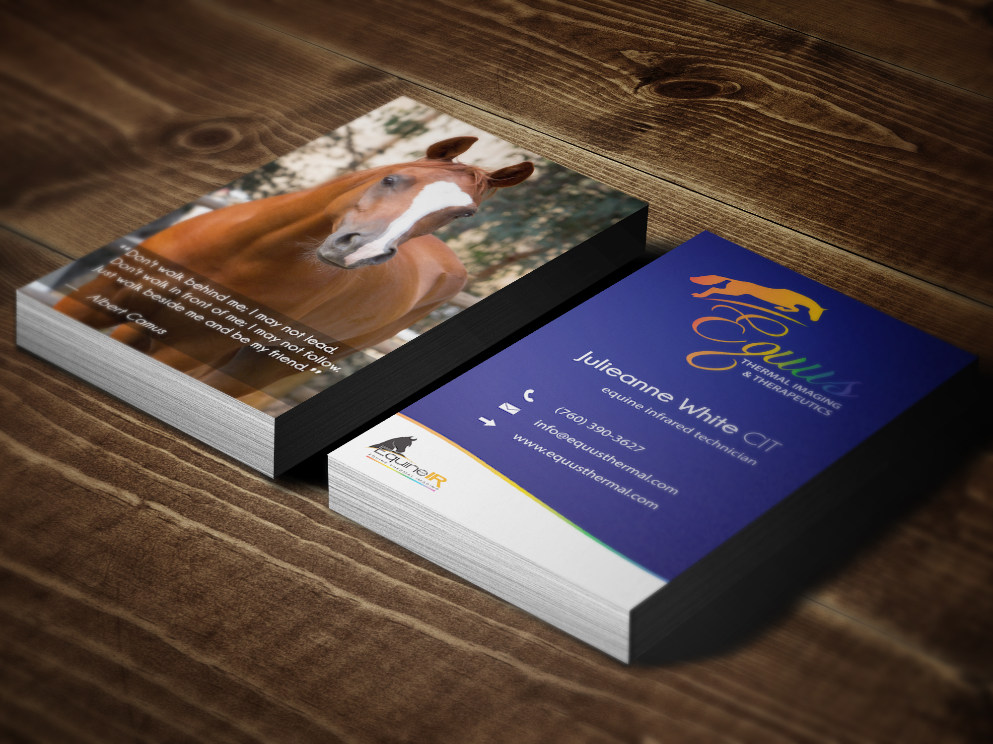 Equine Business Cards