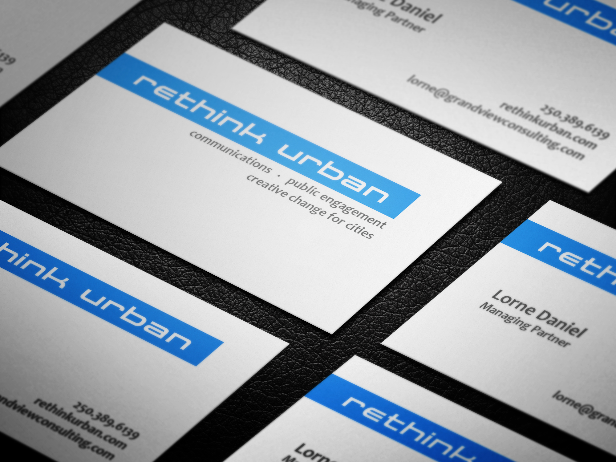 Business Cards for Rethink Urban