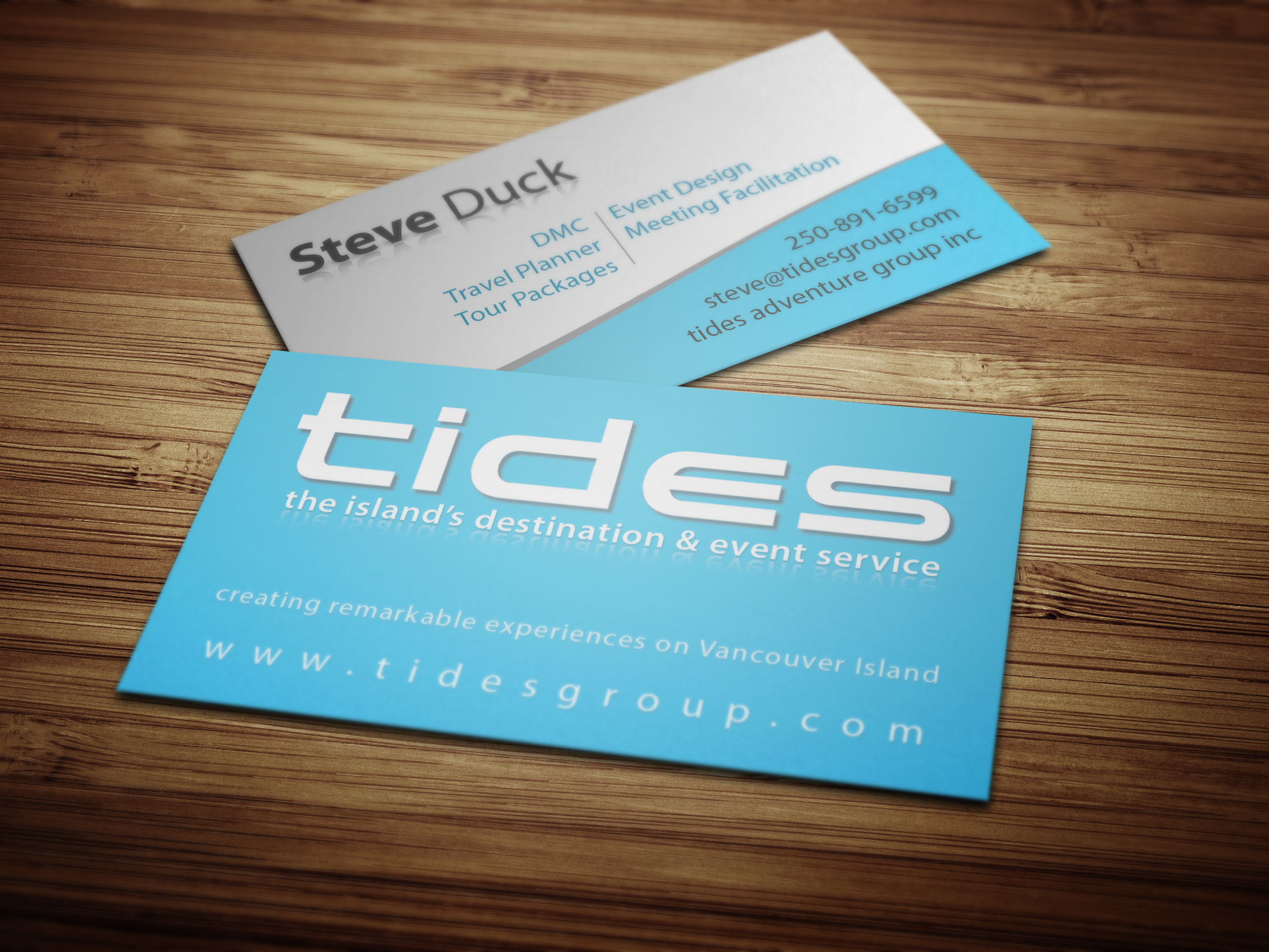 TIDES Group Business Cards